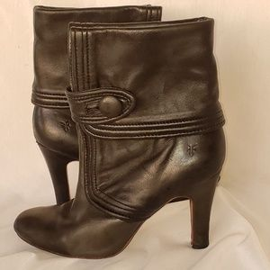 Frye Ava Button Booties